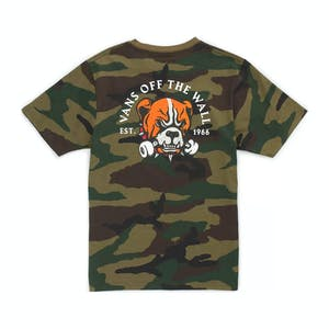 Vans Gnardog Youth T-Shirt - Camo