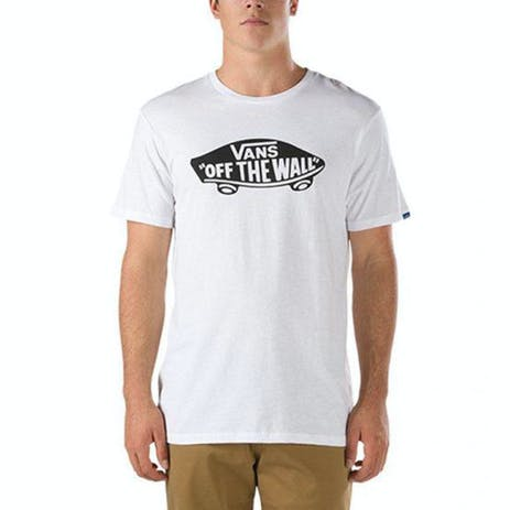 Vans Off The Wall T-Shirt - White