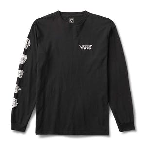 Vans Rowan Faces Long Sleeve T-Shirt - Black
