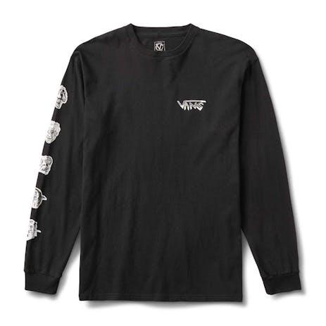 Vans Rowan Faces Long Sleeve T-Shirt - Black
