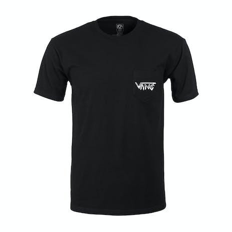 Vans Rowan Flame Skull T-Shirt - Black