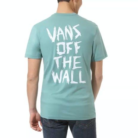 Vans Scratched T-Shirt - Oil Blue