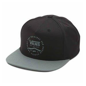 Vans Side Stripe Snapback Hat - Black
