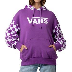 Vans Skate Check Women's Hoodie - Dewberry