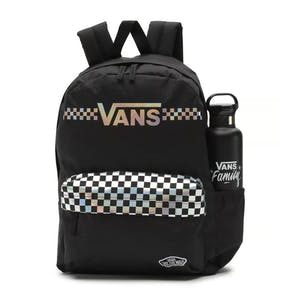 Vans Street Sport Realm Iridescent Backpack - Black/Shinier Times