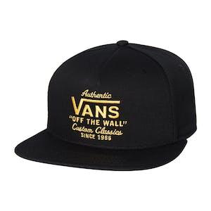 Vans Wabash Snapback Hat - Black/Zinnia