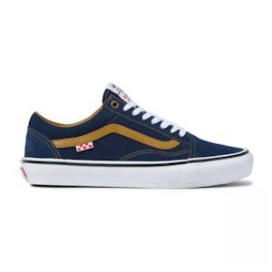 Vans Skate Old Skool Reynolds Skate Shoe - Navy/Golden Brown