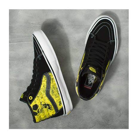 Vans x Spongebob Skate Sk8-Hi Skate Shoe - Gigliotti