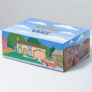 Vans x The Simpsons Sk8 Hi Skate Shoe - Simpson Family 1987-2020