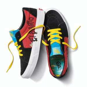 Vans x The Simpsons Sk8 Lo Skate Shoe - El Barto