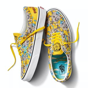 Vans x The Simpsons Era Skate Shoe - Itchy & Scratchy