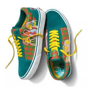 Vans x The Simpsons Old Skool Skate Shoe - Moes