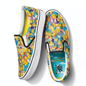 Vans x The Simpsons Slip-On Skate Shoe - Springfield