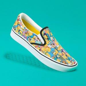 Vans x The Simpsons Slip-On Skate Shoe - Springfield