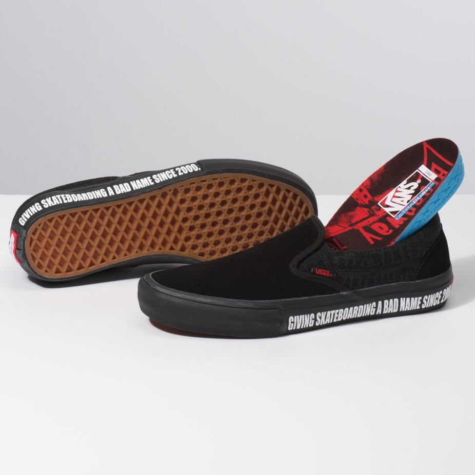 Vans x Baker Slip-On Pro Skate Shoe