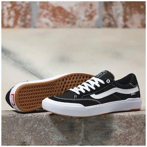 Vans Berle Pro Skate Shoe - Black/True White