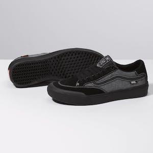 Vans Berle Pro Skate Shoe - Croc Black/Pewter