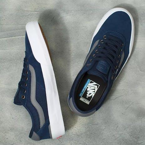 Vans Chima Pro 2 Skate Shoe - Dress Blues/Quiet Shade