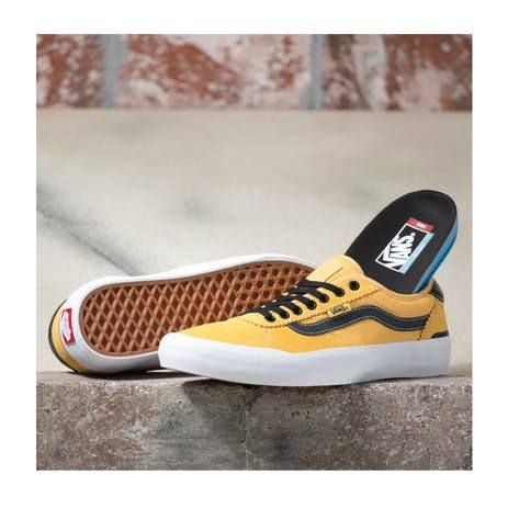 Vans Chima Pro 2 Skate Shoe - Gold/Black