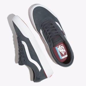 Vans Chima Ferguson Pro 2 Perf Skate Shoe - Ebony/Port Royale