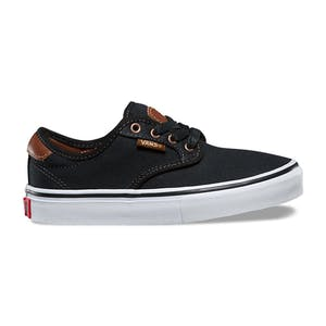 Vans Chima Ferguson Youth Skate Shoe - Brushed Twill/Black