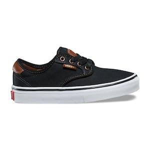 Vans Chima Ferguson Youth Skate Shoe - Brushed Twill/Black