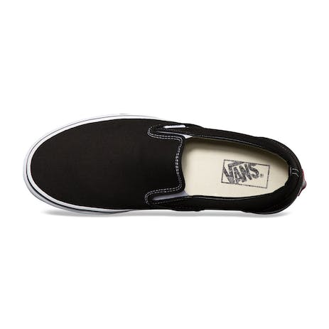 Vans Classic Slip-On Skate Shoe - Black / White