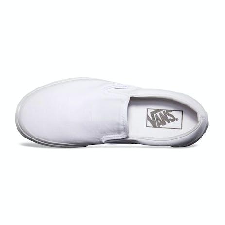 Vans Classic Slip-On Skate Shoe - True White