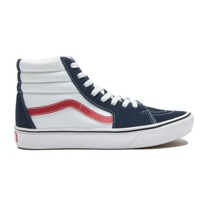 Vans Comfycush Sk8-Hi Shoe - Dress Blues/White