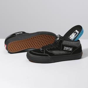 Vans Half Cab Pro '92 Skate Shoe - Croc Black/Pewter