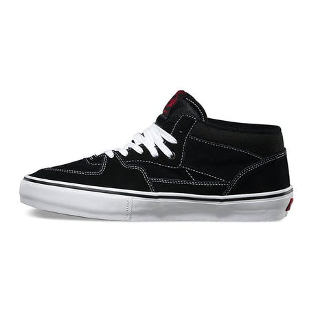 Vans Half Cab Pro Skate Shoe - Black/White/Red