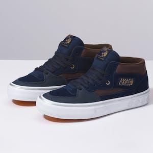 Vans Half Cab Pro Skate Shoe - Dress Blues/Demitasse