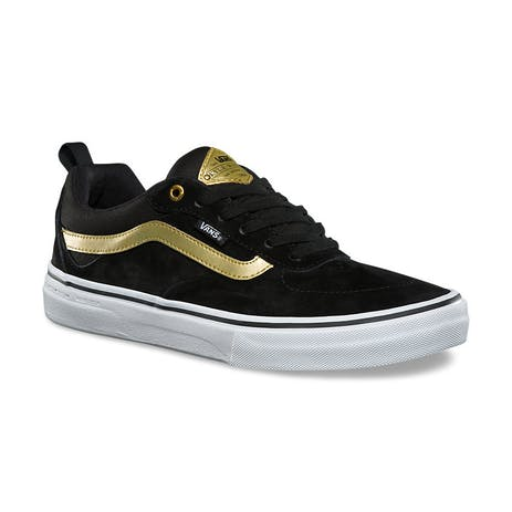 Vans Kyle Walker Pro Skate Shoe - Black/Metallic Gold