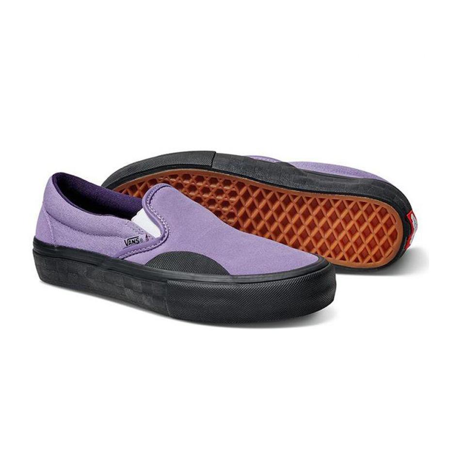 Vans Slip On Pro Skate Shoe - Lizzie