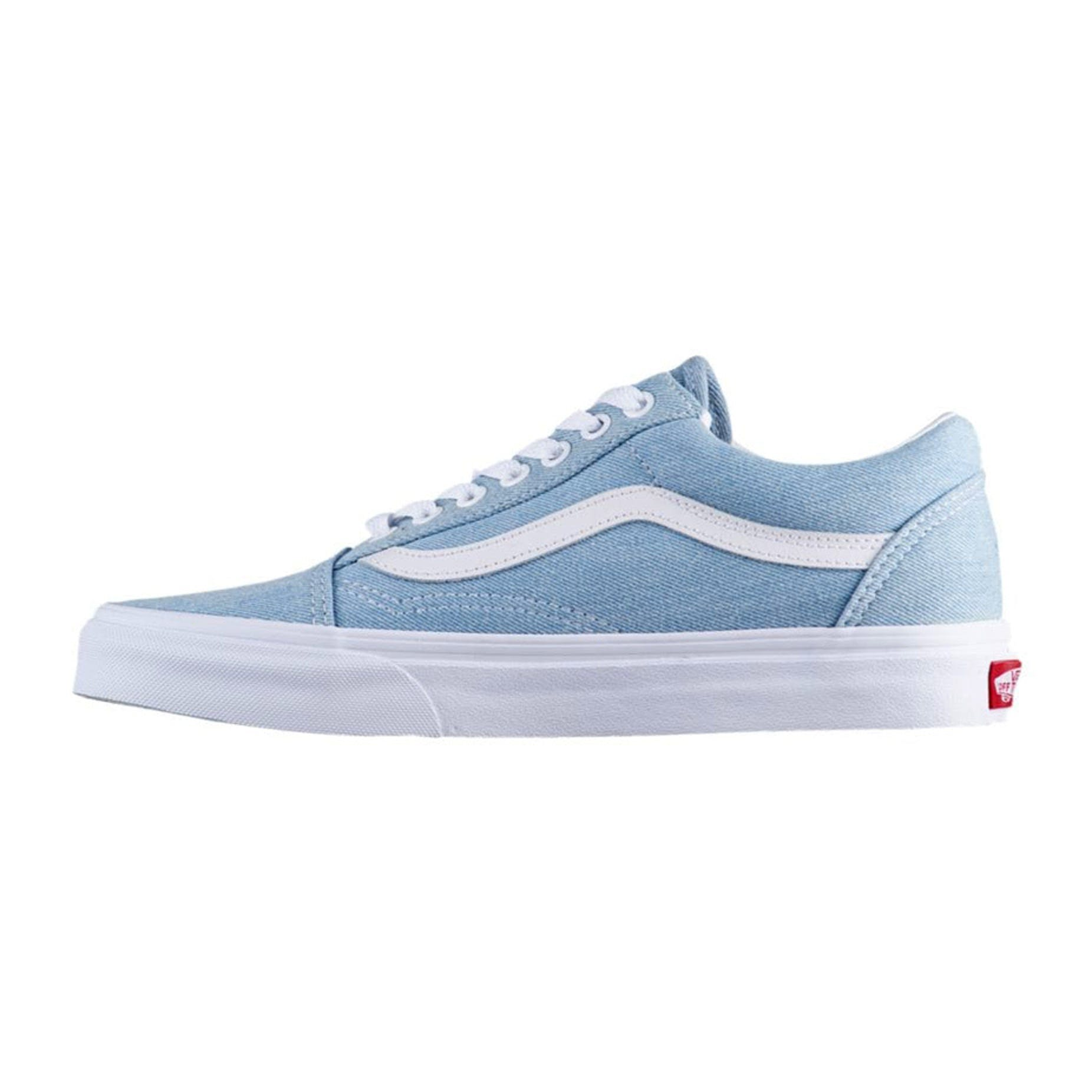 ef930ed2 Vans Old Skool Women's Skate Shoe - Denim / Baby Blue