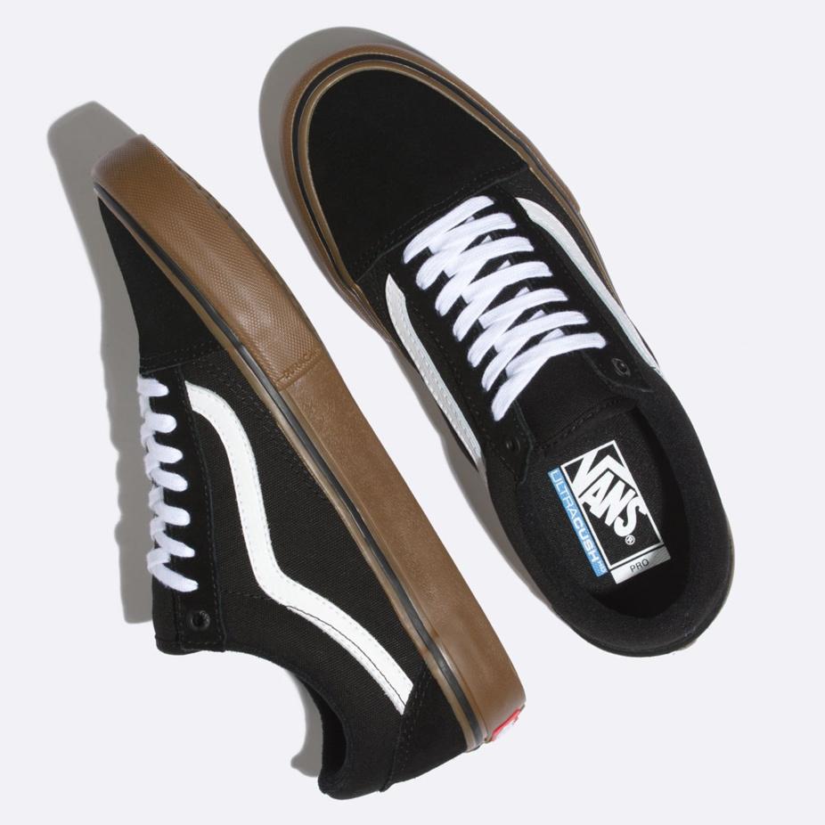Vans Old Skool Pro Skate Shoe - Black