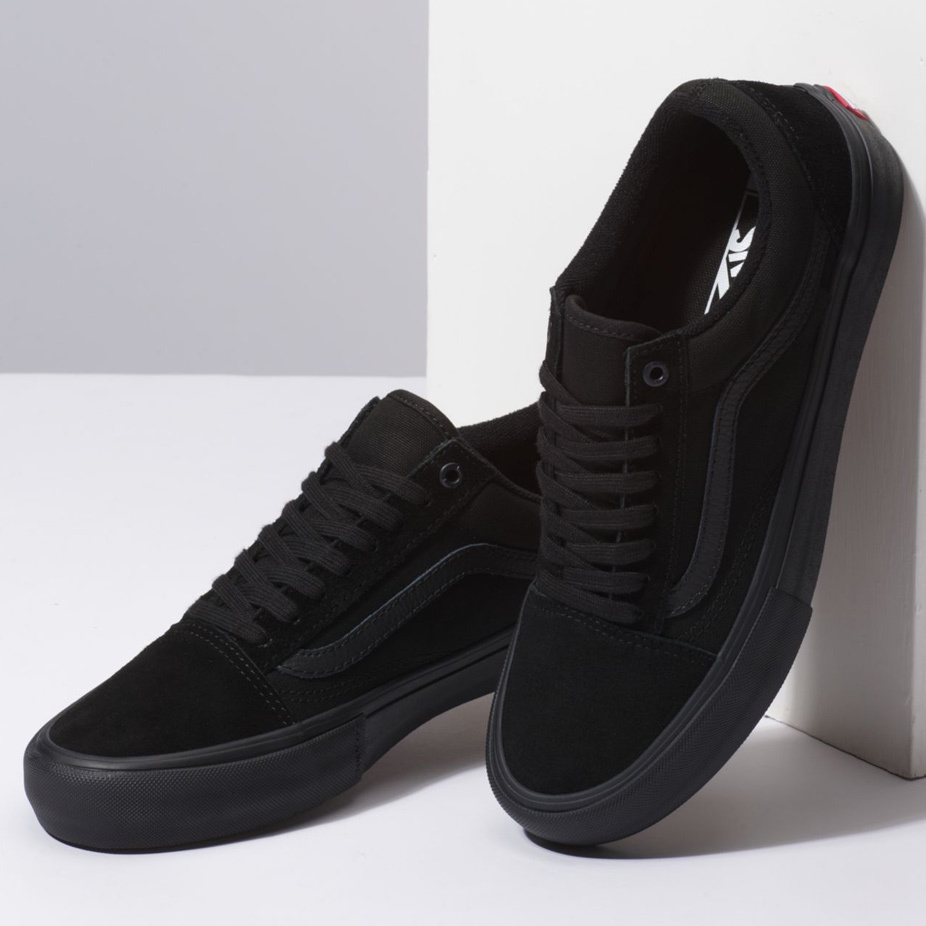 Vans Old Skool Pro Skate Shoe - Blackout