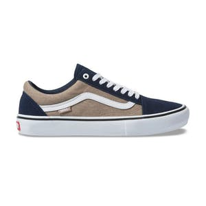 Vans Old Skool Pro Skate Shoe - Dress Blues/Portabella