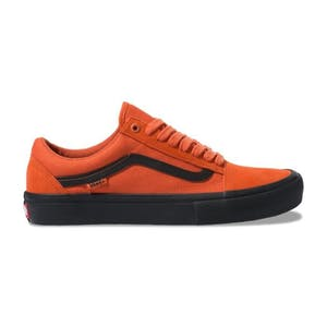 Vans Old Skool Pro Skate Shoe - Koi Orange/Black