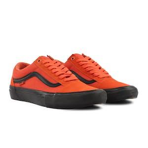 Vans Old Skool Pro Skate Shoe - Koi Orange/Black