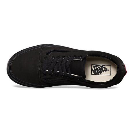 Vans Old Skool Skate Shoe - Black/Black