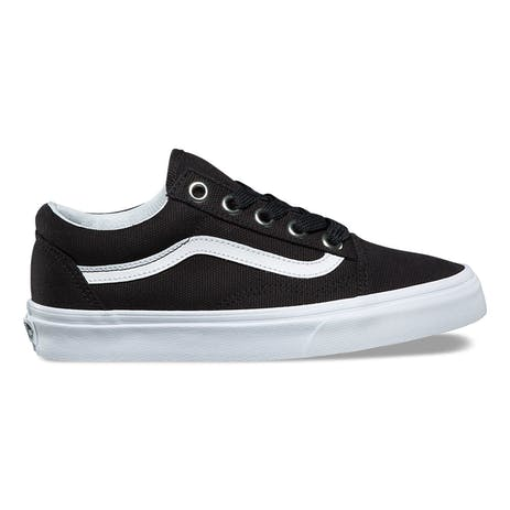 Vans Oversized Lace Old Skool Women's Shoe - Black/True White
