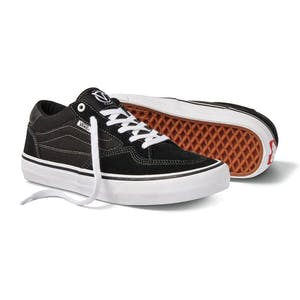 Vans Rowan Pro Skateboard Shoe - Black/White