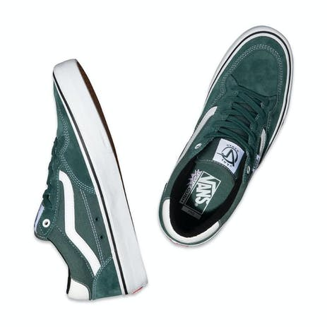 Vans Rowan Pro Skateboard Shoe - Pine/White