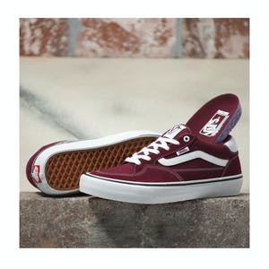 Vans Rowan Pro Skateboard Shoe - Port/White