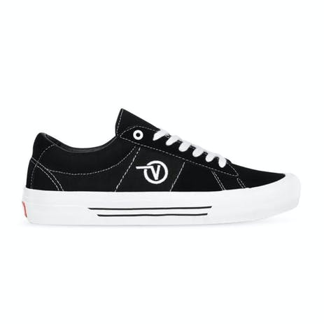 Vans Saddle Sid Pro Skate Shoe - Black/White