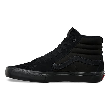 Vans Skate Sk8 Hi Skate Shoe - Blackout