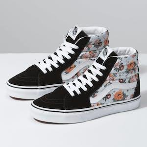 Vans SK8 Hi Skate Shoe - Garden Floral