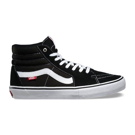 Vans Sk8 Hi Pro Skate Shoe - Black/White