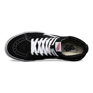 Vans Sk8 Hi Skate Shoe - Black/White